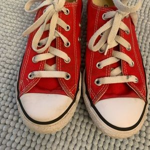 GUC Red Chuck Taylor All Star Converse - Kids - 2